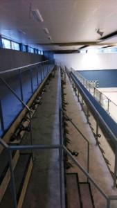 Boden- und Wandbelagsarbeiten, Sporthalle Bassum