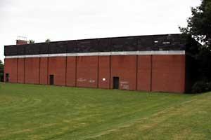 Umbau neue Sporthalle