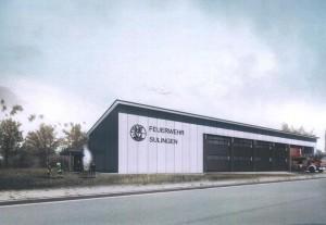 neues Feuerwehrhaus in Sulingen
