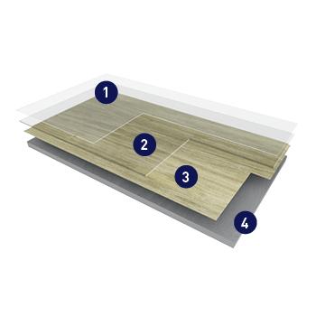 gerflor designboden creation 30 klebeplanke mit mikrofase buffalo. Black Bedroom Furniture Sets. Home Design Ideas