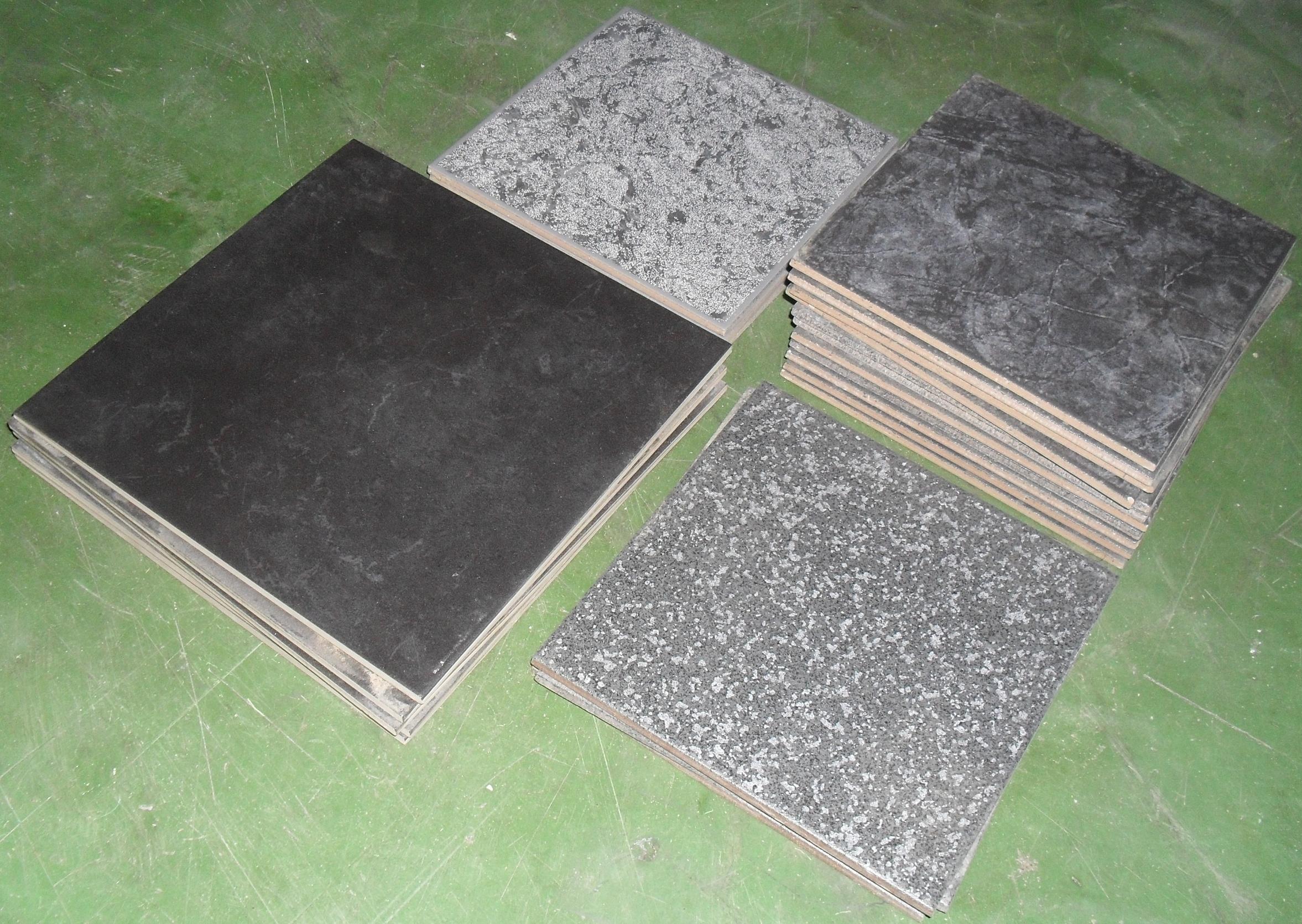 restposten fliesen in schwarz anthrazit grau 22 st ck ca 1 m. Black Bedroom Furniture Sets. Home Design Ideas